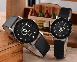 reloj-pareja-negro