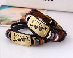 pulsera-cuero-love-pareja