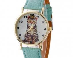 reloj-cuero-gato-menta