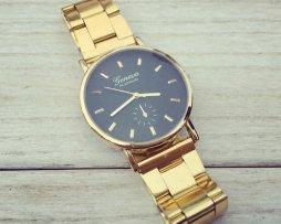 reloj-dorado-fondos-colores-negro