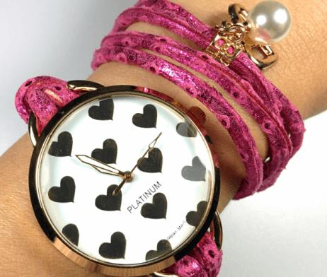 reloj-cordon-corazones-fucsia