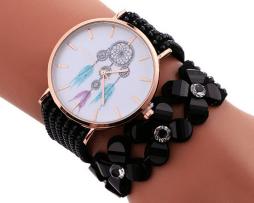 reloj-rinestone-flores-atrapa-sueños-negro